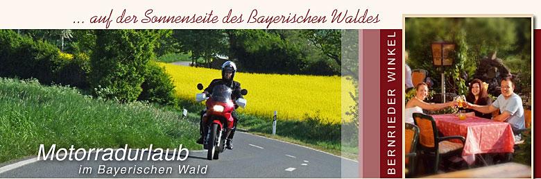 Motorradurlaub Bayerischer Wald