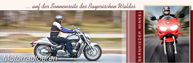 Motorradtouren Bayerischer Wald